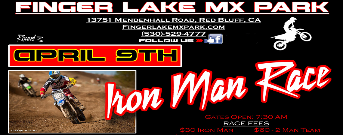 Iron Man Race Finger Lake MX Park April 9th, 2016